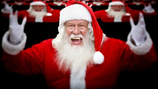 Julenissen som komiker