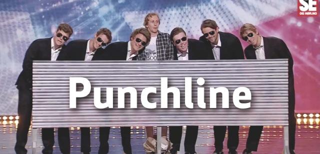 Punchline her fra Norske Talenter
