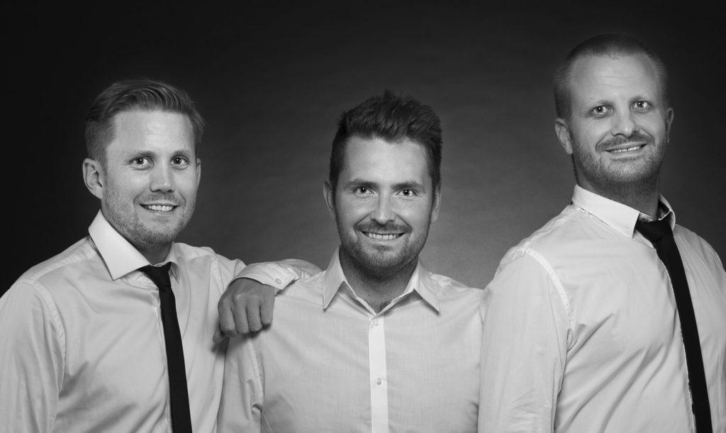 KLM-trio er et lettdrevet partyband med popmusikk.