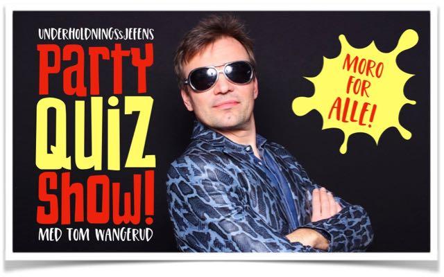 PartyQuizShow med Tom Wangerud alene