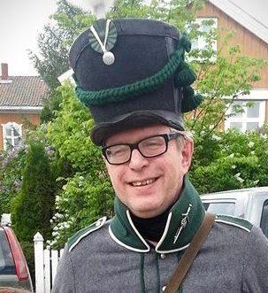 Komiker Øivind roos gir humoristisk vandring på Kongsvinger festning