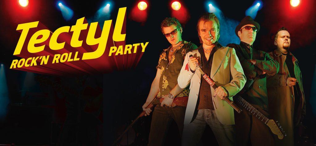 Når du booker band til sommerfesten, er det «Tectyl Rock'n Roll Party» som kommer, med Underholdningssjefen selv, Tom Wangerud, i front.